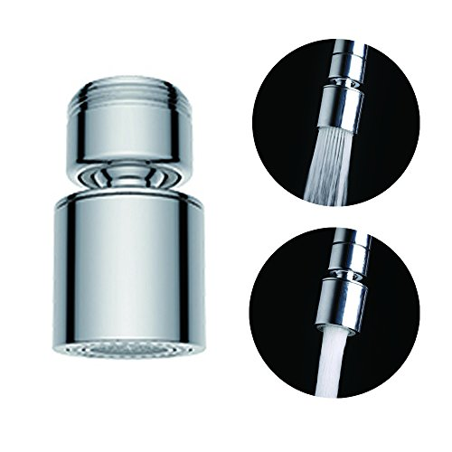 Get Quotations Waternymph Hibbent Dual Function 2 Flow Faucet Aerator 360 Degree Swivel