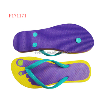 c4268007c Foot Print One Dollar Flip Flops Rubber Sandals - Buy One Dollar Flip ...