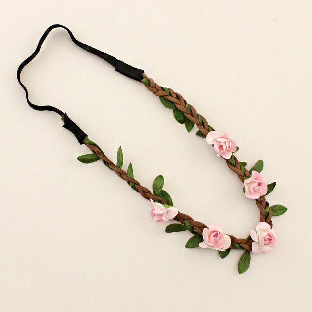 Girls Fashion Flowers Headbands Perfect Quality Wreath <strong>Hair</strong> <strong>Accessories</strong> for Women Floral <strong>Hair</strong> band Fine Garland Headwear
