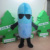 Easy wearing Medicine tablet mascot adult Medicine tablet mascot in blue and white for sale Soft plush Medicine tabletcostume
