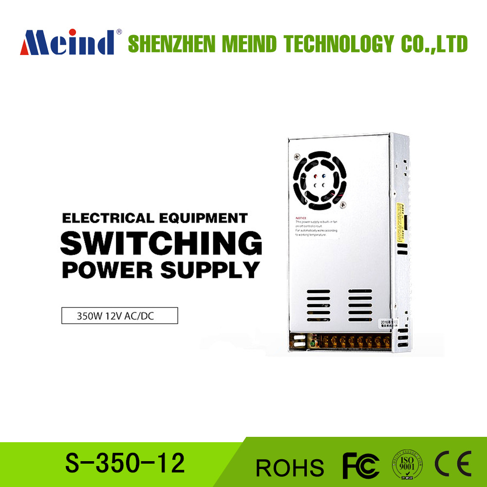 Meind hot sale S-350-12 single output 110/220v ac to dc 360w 29a 12v switching power supply