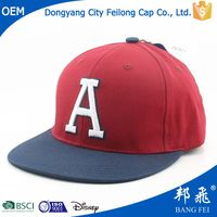 Fashion Style Children Kids Felt Flat Bill Hat Snapback,Small Size Children Snapback Hat Wholesale Cheap Snapbacks