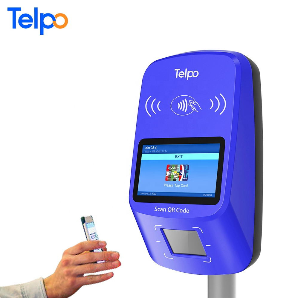 Qr Code Scanner Payment Terminal Android Pos Device With Wifi Bus Fare  Validator - Buy Bus Fare Validator,Android Pos Device With Wifi,Qr Code  Scanner