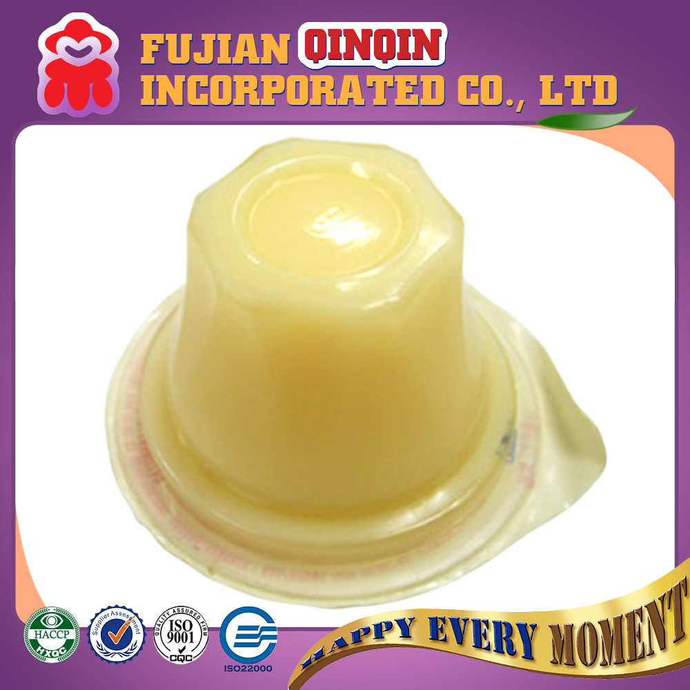 OEM customized different flavors fruit pudding jelly cup jelly