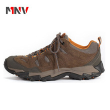 2017 Plus size men sport shoes male breathable hiking shoes outdoor casual shoes