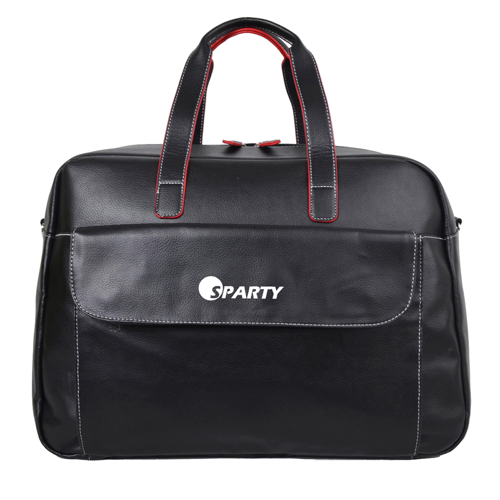 Brand new design discounted outdoor leather travel bag