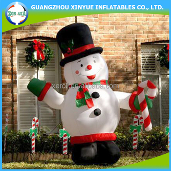 2014 Lowes Outdoor Inflatable Abominable Snowman Christmas ...