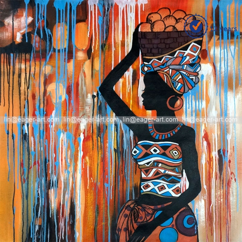 Manufacturer african woman painting african woman for African body decoration