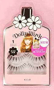 e703b596276 Koji Dolly Wink Eyelashes By Tsubasa Masuwaka - Dolly Sweet (01) [3pair]