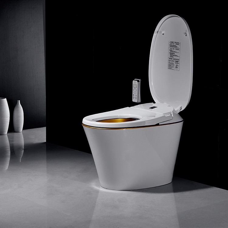 smart water sensor vagina bidet one piece toilet made in china