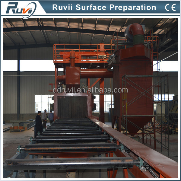 Q6915 series Roller Conveyor type Shot Blasting Machinery