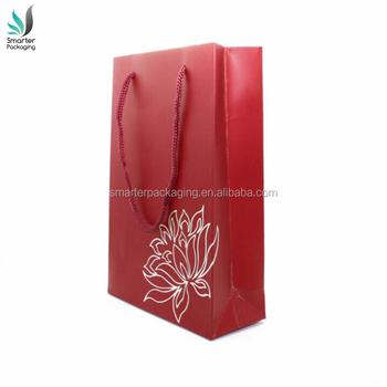 Creative Paper Gift Bags RedIndian Wedding WeddingHot Stamping Handmade