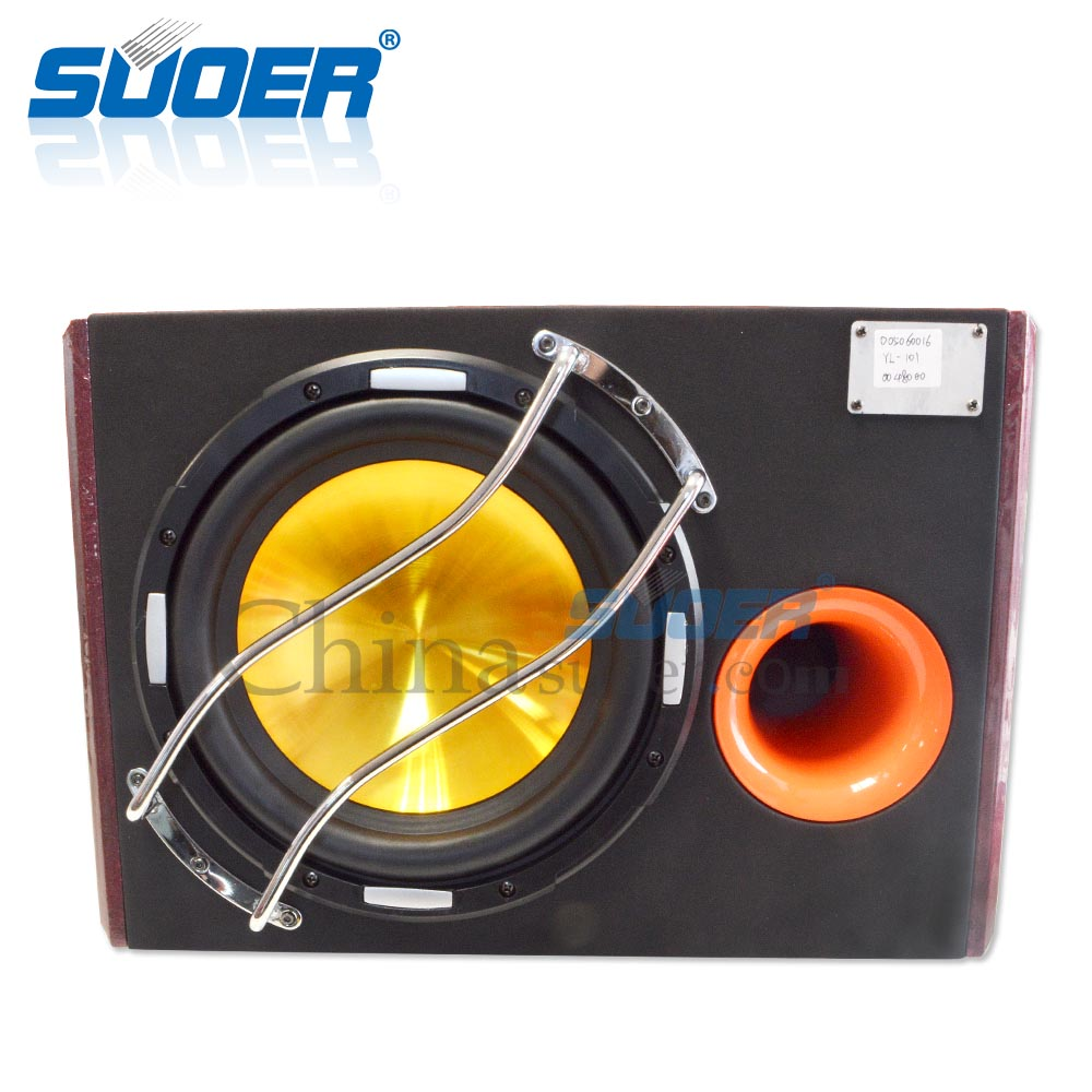 Suoer Factory manufacture advanced 10 inch car audio speakers subwoofer