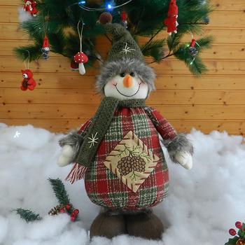 Gifts lovable xmas christmas logo snowman dolls