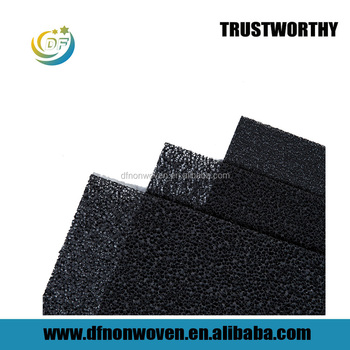 Factory price 20ppi or 30ppi 50mm thickness air filter foam sheets pu foam manufacturer from china