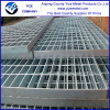 serrated steel floor grating/platform steel grating /galvanized steel grating (China manufacturer)