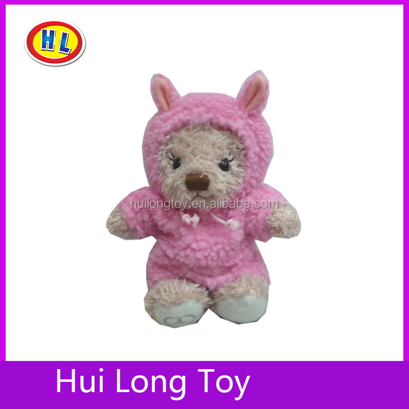 Cute dancing dolls plush bear toys
