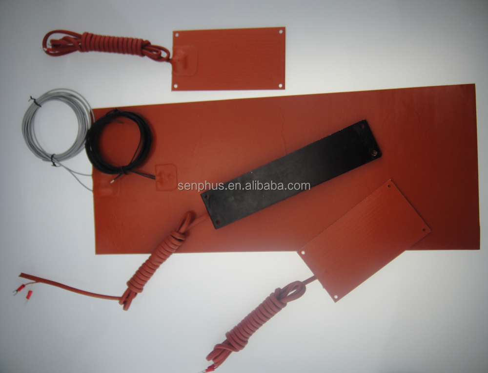 silicone rubbber heating element