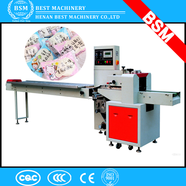 Stable performance Sesame Candy/Instant Noodle/Popsicle Packing Wrapper Machine