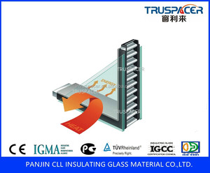 Insulating glass spacer bar