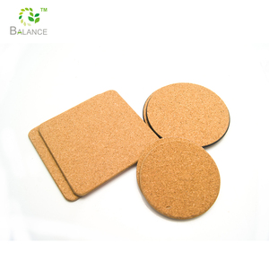 Blank cork coaster , tea coaster , coaster set