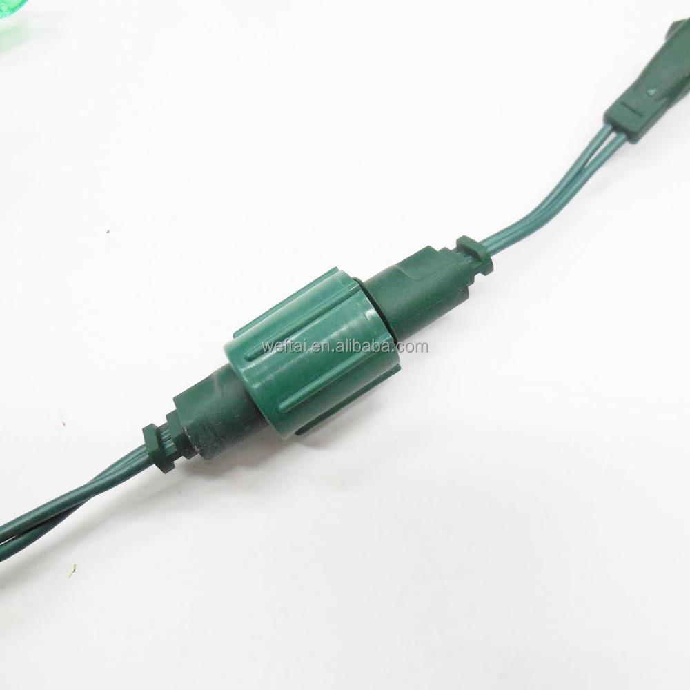Male Plug Adapter For Christmas Lights