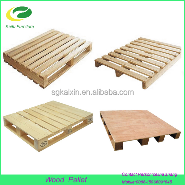2017 hot sale 4 way cheap price wooden pallet fumigation wood pallet