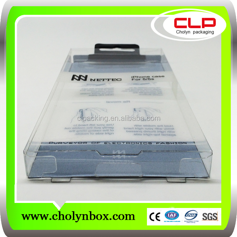 new custom plastic iphone 5s packaging , iphone 5s box made in china