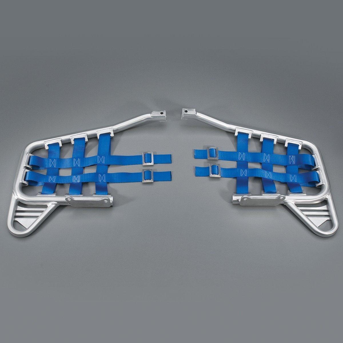 Yamaha YFZ450 GYTR Aluminum Nerf Bars (Blue Webbing) by Yamaha OEM. GYT-46D31-KT-02