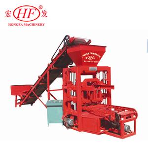 QTJ4-26 easily Used concrete block making machinery Hollow block moulding  plant