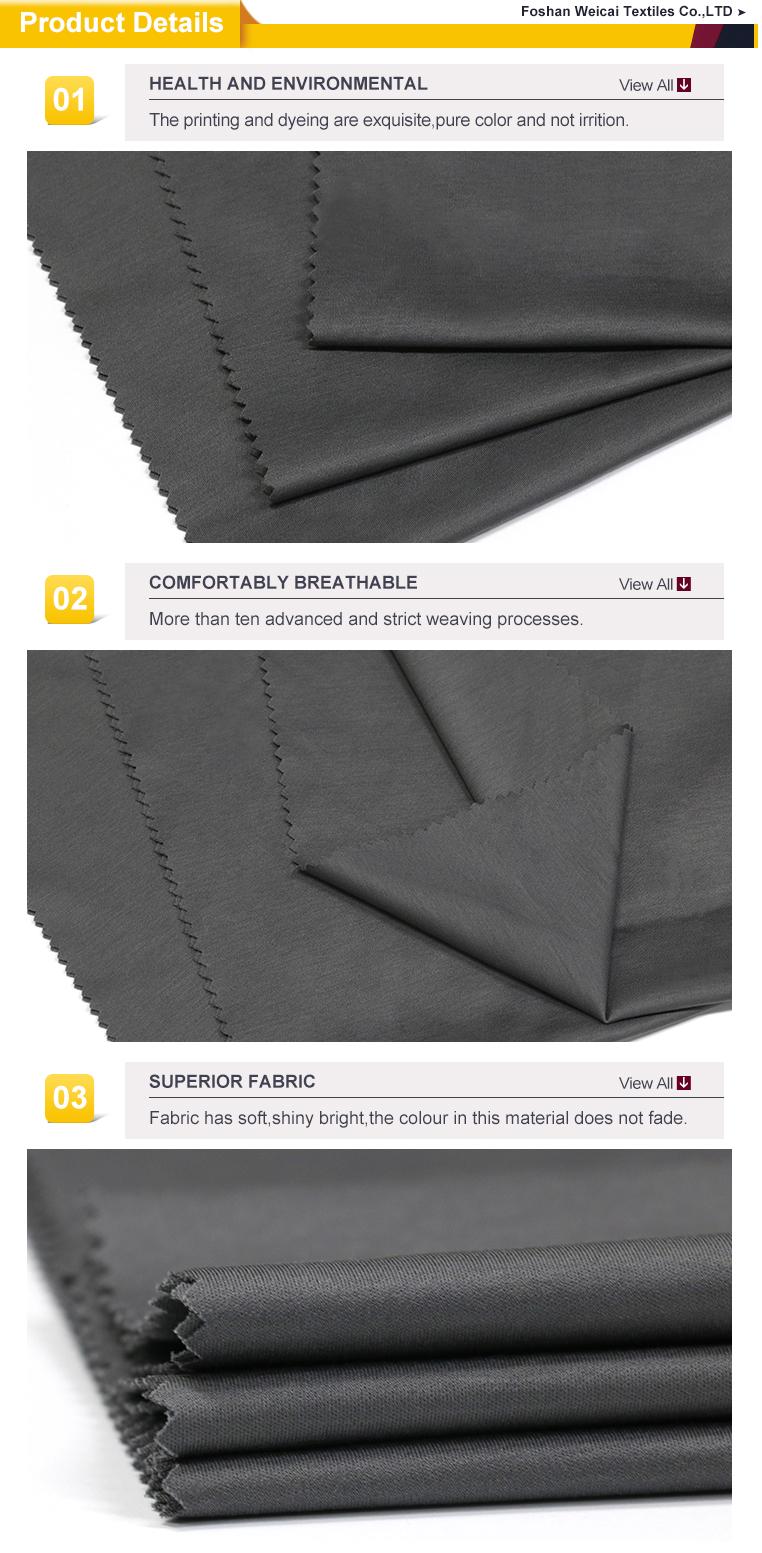Custom 100 cotton fabric shirt jersey knit names upholstery 145G