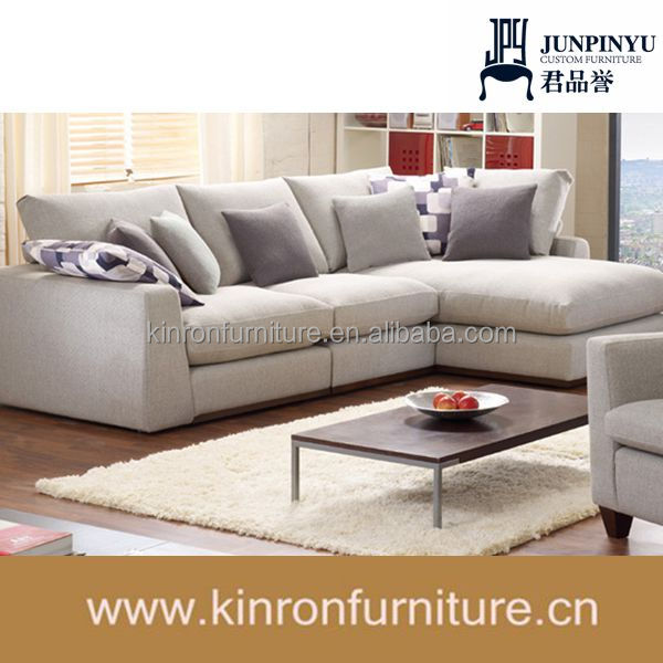 Moderne design-hotel möbel holz sofa im wohnzimmer Sofas ...