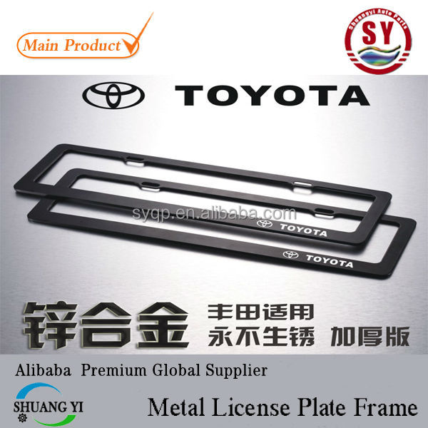 toyota license plate frame toyota license plate frame suppliers and manufacturers at alibabacom