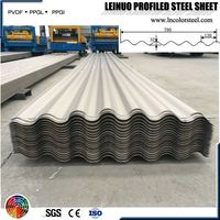 wave-like m2 price Heatproof corrugated sheet metal roofing home depot