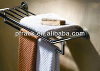 strong stainless steel towel rack with bar