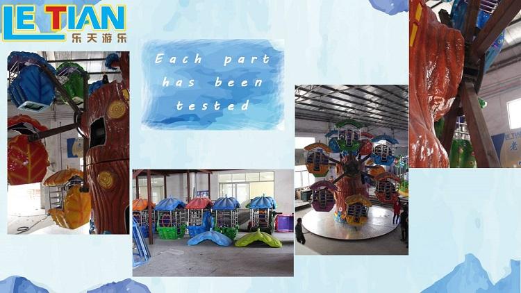 Large Children Playground Equipment Kids Mini Ferris Wheel for sale