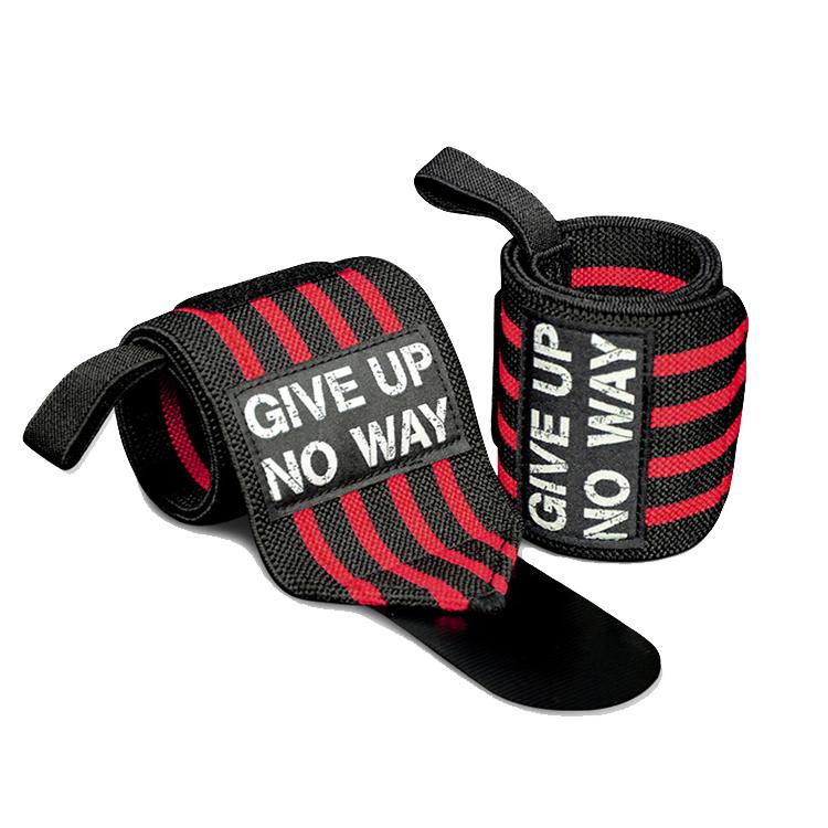 2019 Amazon Gym Wrist Straps lifting Custom Wrist Wraps With Low Price, Black+red/yellow/green or customized