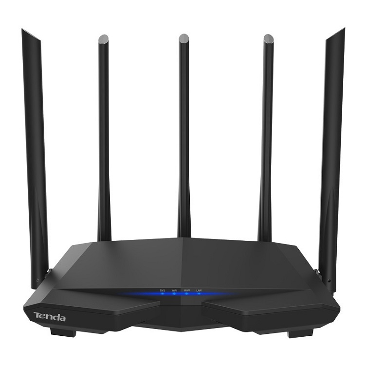 Tenda Original AC7 Wireless Router 5G 1200M High Speed No Setup Easy to Install WIFI Router ZY-002 фото