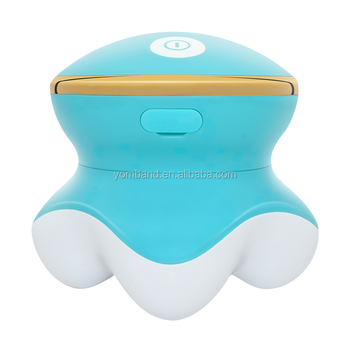 New Arrival Rechargeable Cordless Handheld Vibration Mini Body Massager with Factory Price