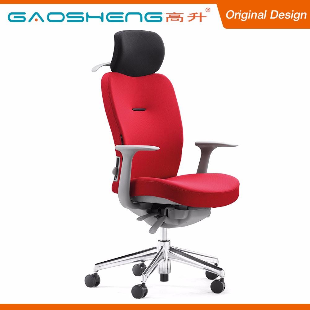 GS G166A Chauffe Tissu Chaise De Bureau Dossier Haut Avec Appui Tte