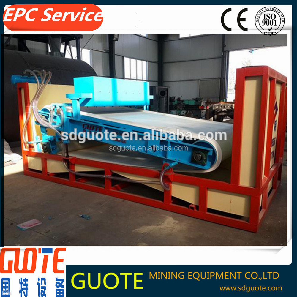 High intensity magnetic separator for non metallic mineral