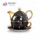 tea for one wedding teapot cups and saucer set from chaozhou manufacture
