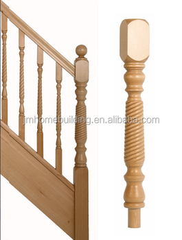 Wood Solid Newel Post/Stair Parts/Stair Balustrade/Staircase
