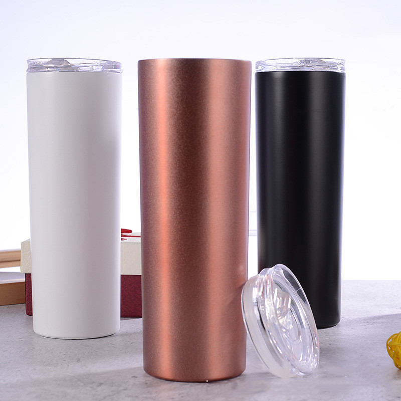 Hotsell 20oz Skinny Tumbler, Straight 20oz Skinny Tumbler with Logo Custom Factory Wholesale