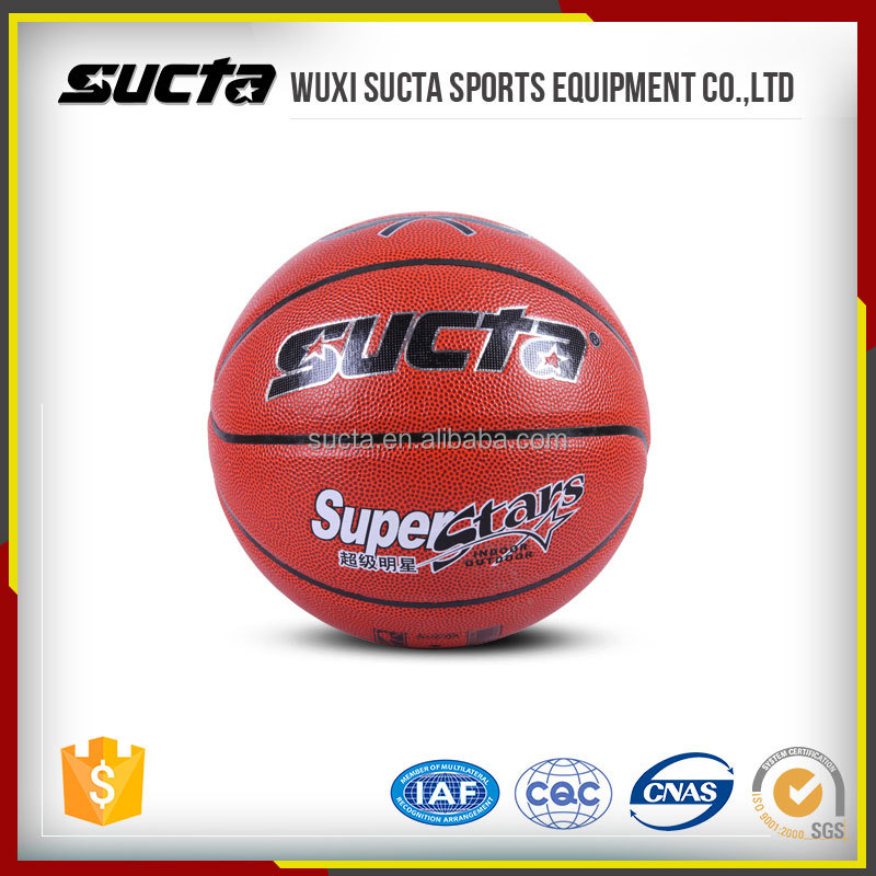 Typical PU Synthetic leather cover with great grip Basketball Ball ST1000 series