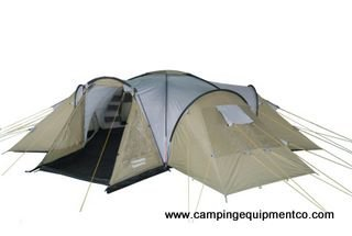 Nexus 16 Person Family Camping Tent Large Rooms NEW