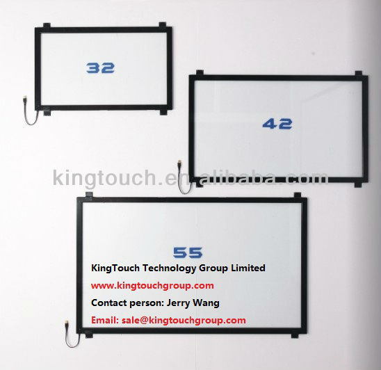 "IR touch screen frame (Infrared ir touch screen frame) with dual touch size from 15"" to 185"""