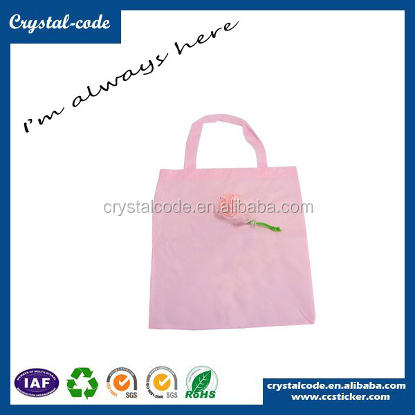 Eye-catching Newly Fashion Polyester Tote Foldable Shopping Bag
