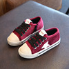 10-36 Latest Fashion professional cute kids' canvas casual shoes