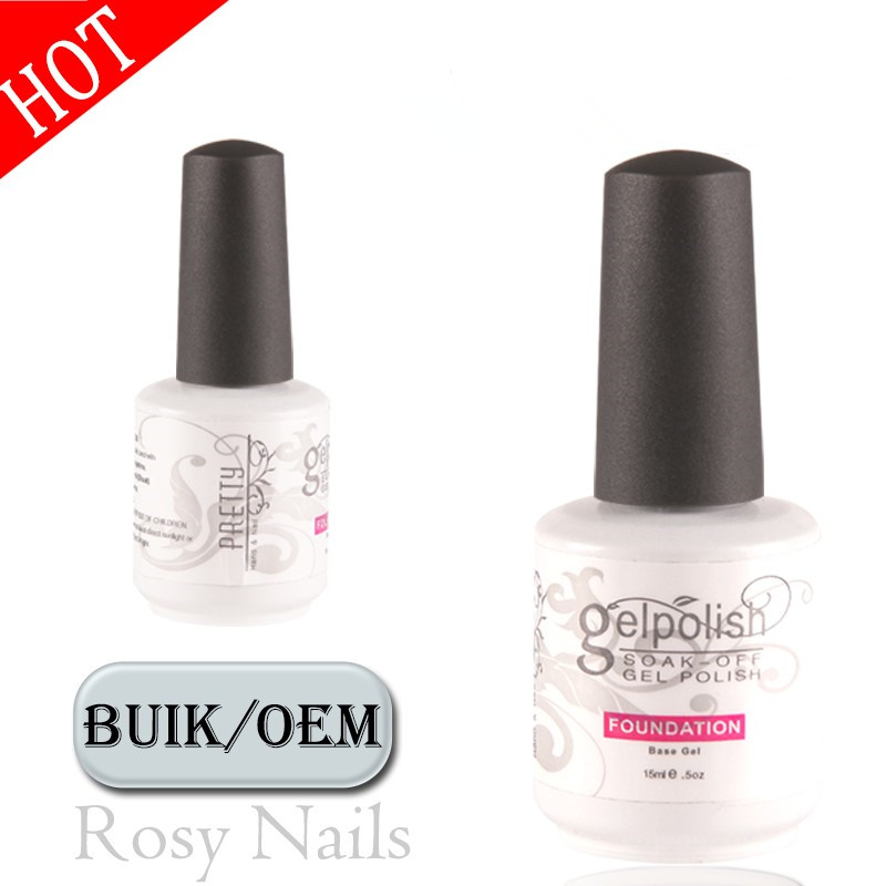 Nail Supplies Soak Off Uv Color Gel Clear Rubber Base Coat For Nails ...
